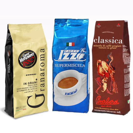 Picture of מבצע 3 טעמי קפה מובחרים מ 3 סוגי אספרסו איטלקי!